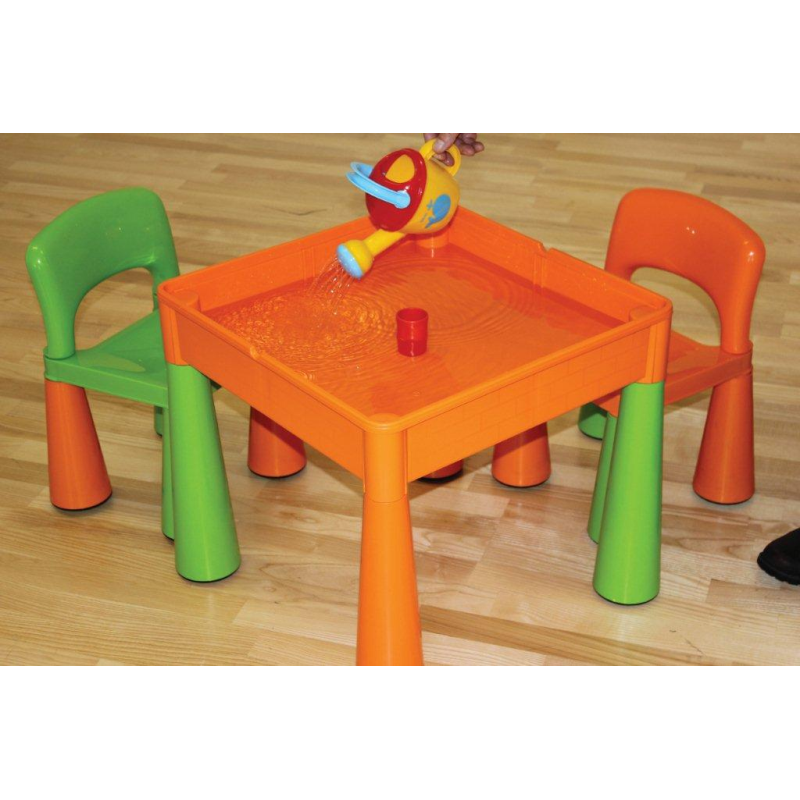 f127156df2ae 5 in 1 Multipurpose Activity Table   2 Chairs