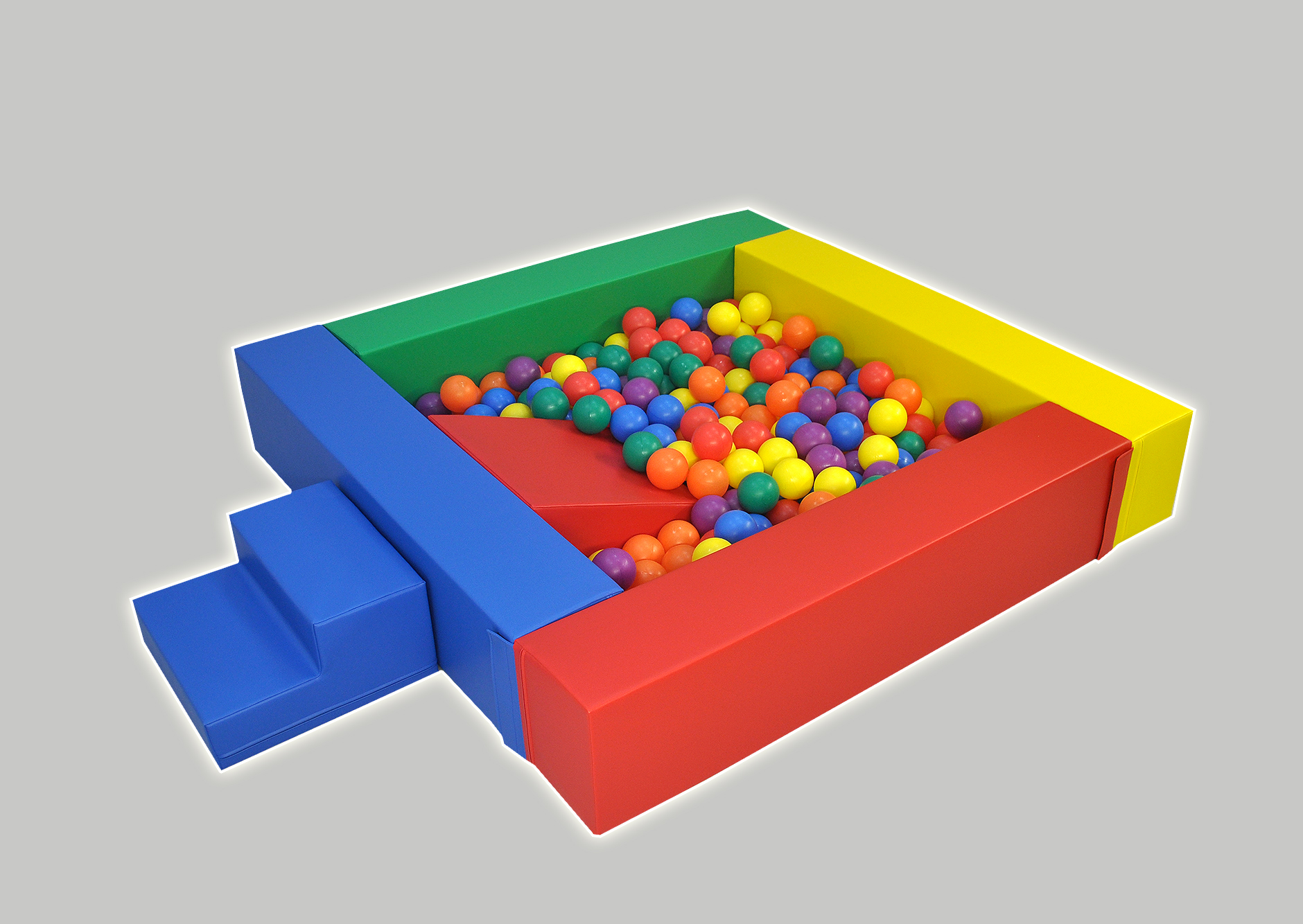 Ball Pool Pit With Step Amp Slide