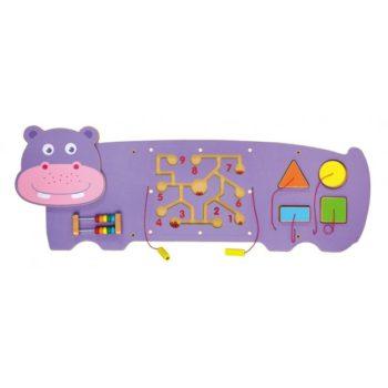 hippo wall toys